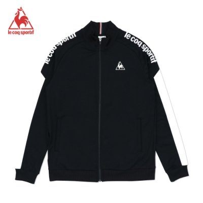 法國公雞牌立領外套 LOM6160199-男-黑