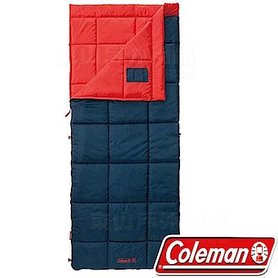 Coleman CM-34774橘 信封型表演者睡袋III/適溫5度 化纖寢袋