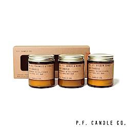 美國 P.F. Candles CO. 官方精緻禮盒三入組
