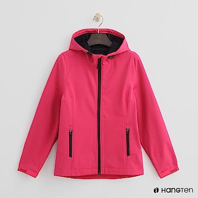 Hang Ten - 女裝 - ThermoContro恆溫多功能內刷毛外套-桃紅