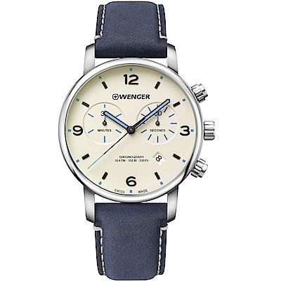 瑞士WENGER Urban Classic都會時尚手錶(01.1743.119)