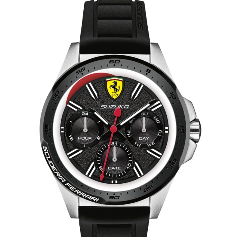FERRARI 法拉利極勁限量日本運動膠帶腕錶