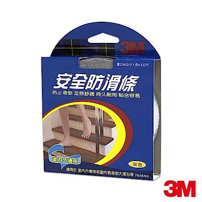 3M 7646NA 安全防滑條-灰 (2.54CMx4.5M)