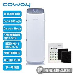 Coway 14-18坪 綠淨力直立式空氣清淨機 AP-1216L 送6片活性碳濾網