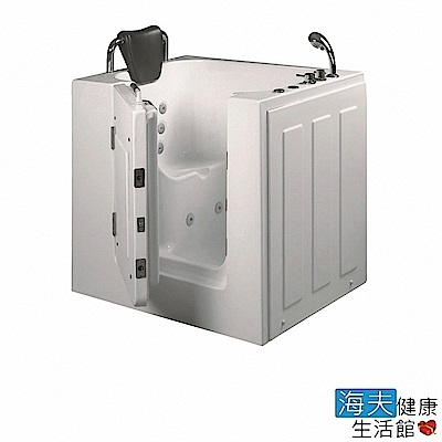 海夫健康生活館 開門式浴缸 102-R 氣泡按摩款 (100*78*95cm)