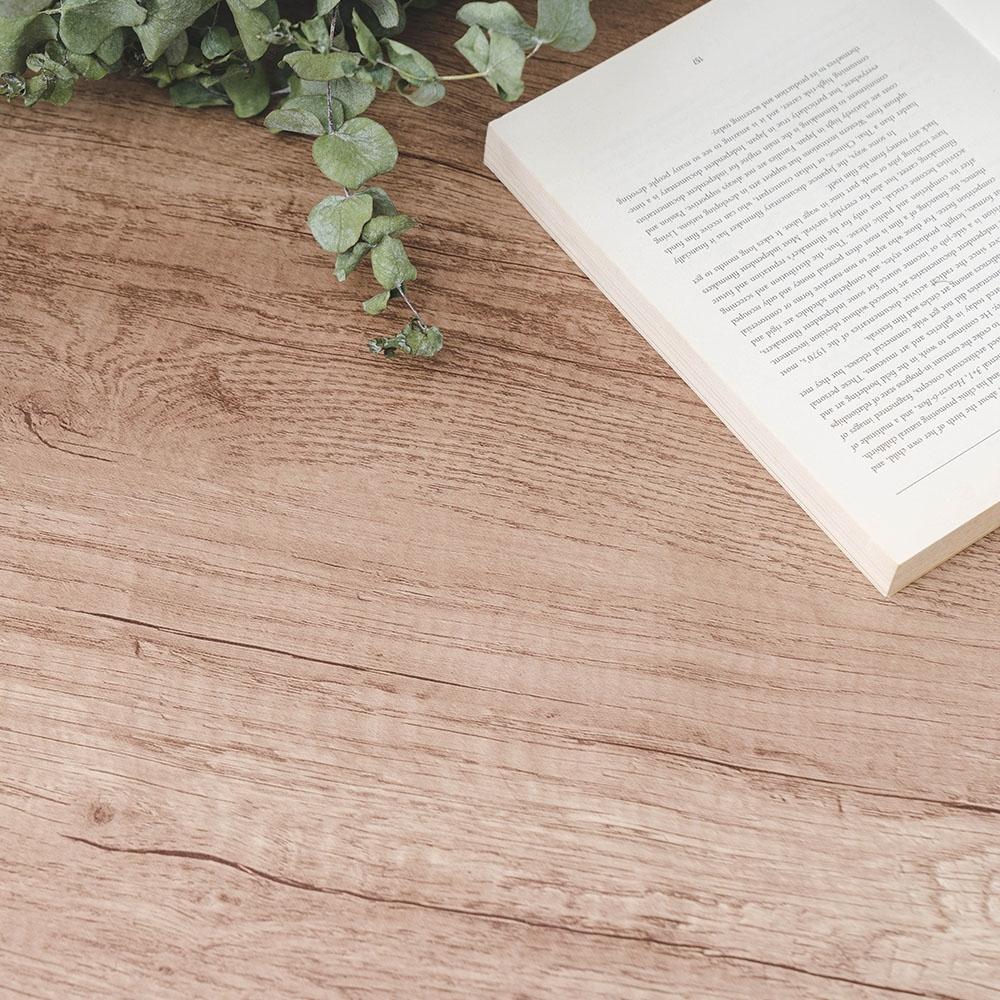 樂嫚妮 DIY裝修加厚防水仿木紋壁貼 60X300cm-黃柚木紋色