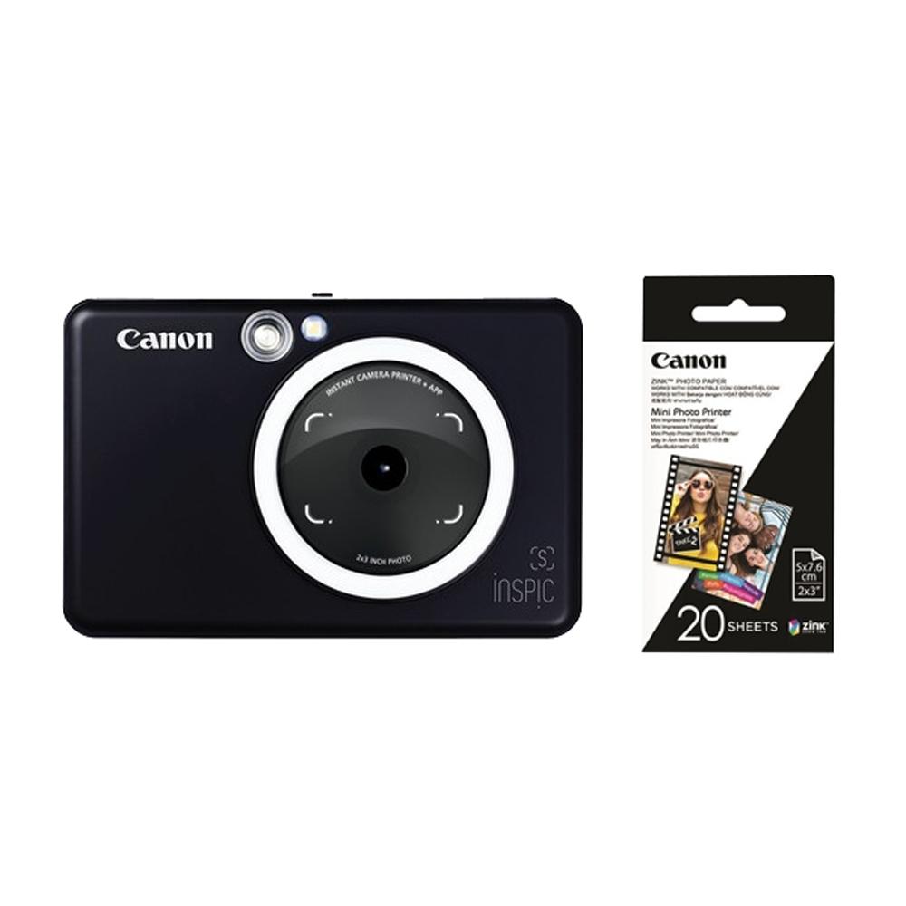 Canon ZV-123A 即影即印相印機 (公司貨) 贈20張相片貼紙