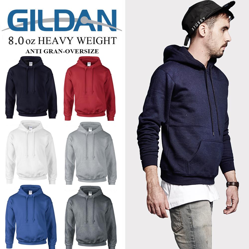 吉爾登GILDAN亞規88500長袖連帽T恤 保暖刷毛 衛衣 大學服