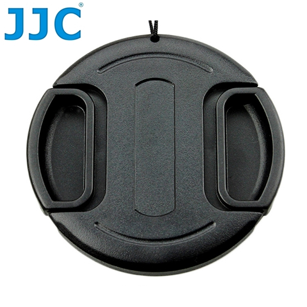 JJC副廠無字中捏鏡頭蓋37mm鏡頭蓋LC-37(B款,附孔繩)快扣鏡頭蓋37mm鏡頭保護前蓋