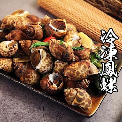 【海鮮王】鮮凍彈牙XL大鳳螺*3包組(500g±10%/包)