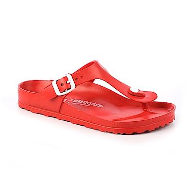 勃肯BIRKENSTOCK 128231。GIZEH吉薩 EVA夾腳拖鞋(紅色)