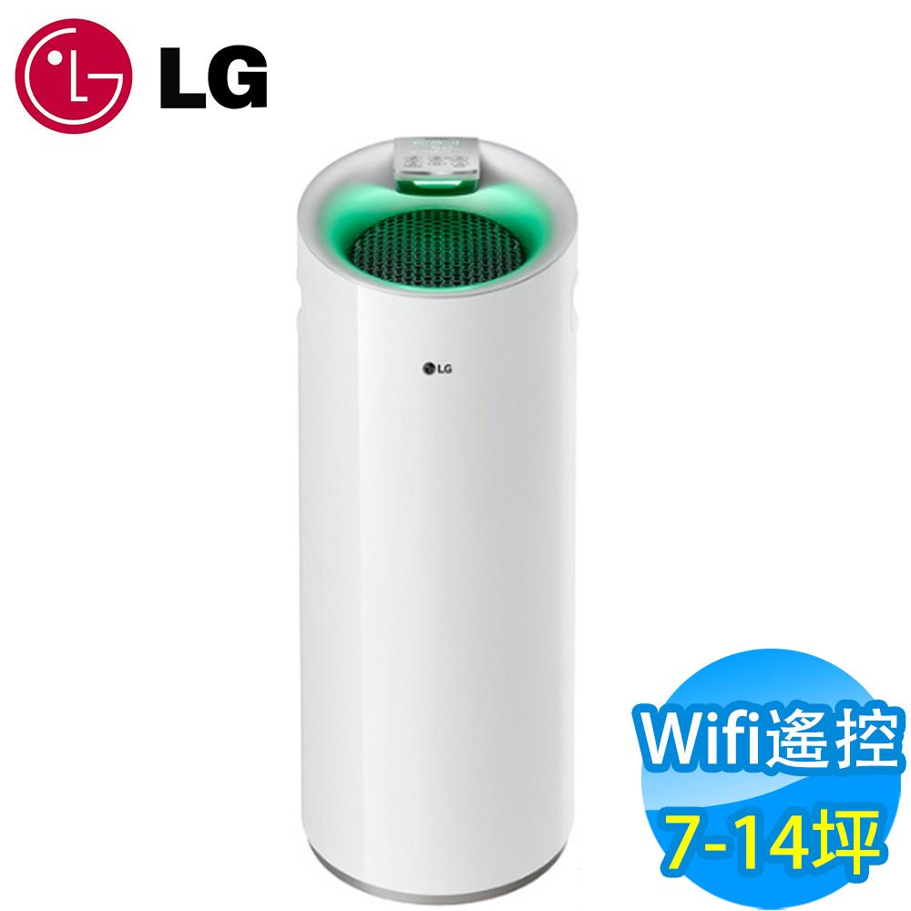 LG樂金 7-14坪 Wifi遙控空氣清淨機 AS401WWJ1 白色