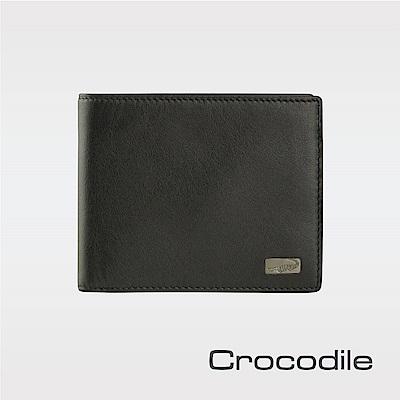 CrocodileCortina系列短夾-抽取式子夾 0103-07204