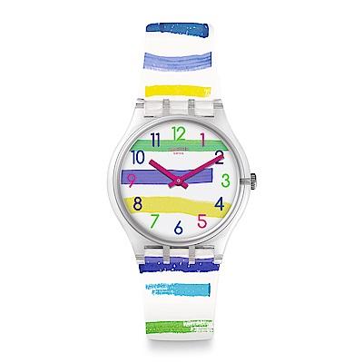 Swatch 情迷地中海 COLORLAND 色彩國度手錶
