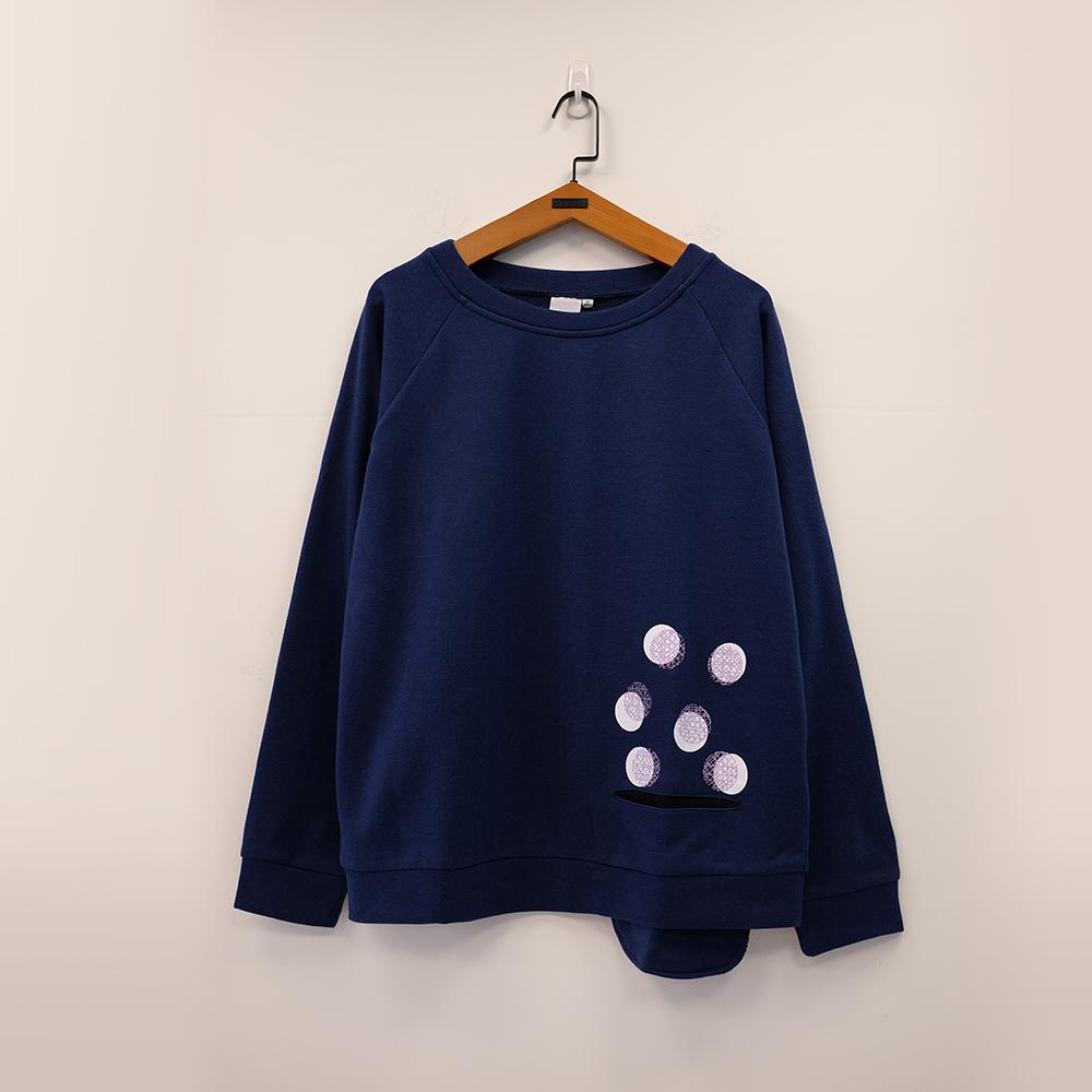 gozo 俏皮配色造型口袋圓領上衣(三色)