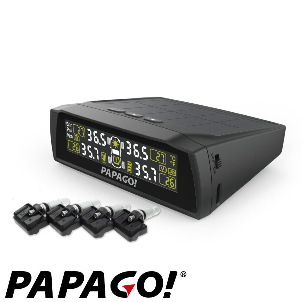 PAPAGO !  TireSafe S72I 迷你太陽能胎壓偵測器 胎內式-快