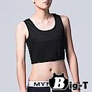 束胸 網布加強束緊半身排扣款(4XL-6XL) BIG-T