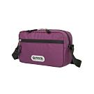 【OUTDOOR】橫式側背包-紫色 OD291108PL