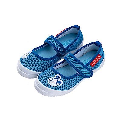 迪士尼童鞋 米奇 輕量透氣休閒鞋-藍