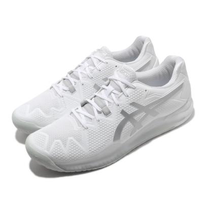 Asics 網球鞋 Gel-Resolution 8 男鞋 亞瑟士 緩衝避震 耐磨 包覆 亞瑟膠 白 銀 1041A079100