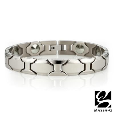 MASSA-G【雅致酩品】純鈦能量手環
