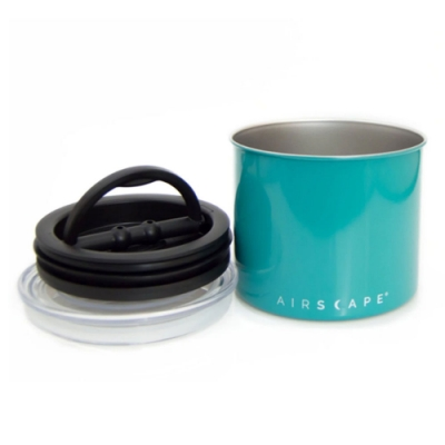 AirScape排氣閥不鏽鋼密封儲物罐(32oz,共兩色)贈小麥環保餐具