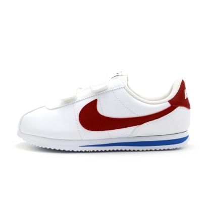 Nike CORTEZ BASIC 阿甘 童休閒鞋-白-904767103