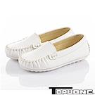 TOPUONE 百搭輕量三倍減壓防滑休閒童鞋-白色