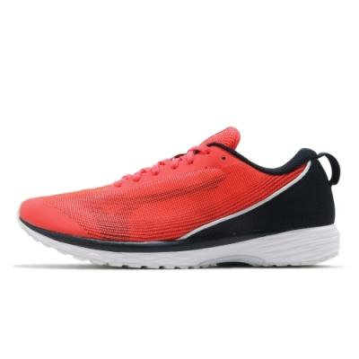 MIZUNO DUEL SONIC 男路跑鞋 紅黑-U1GD213473