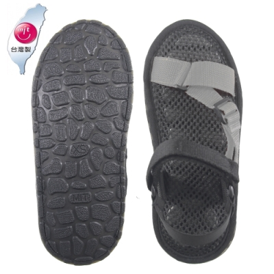 AC Rabbit 低均壓氣墊休閒涼鞋-灰色