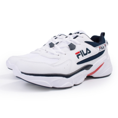 【FILA】HIDDEN TAPE  運動鞋 男鞋-白(1-J329U-133)