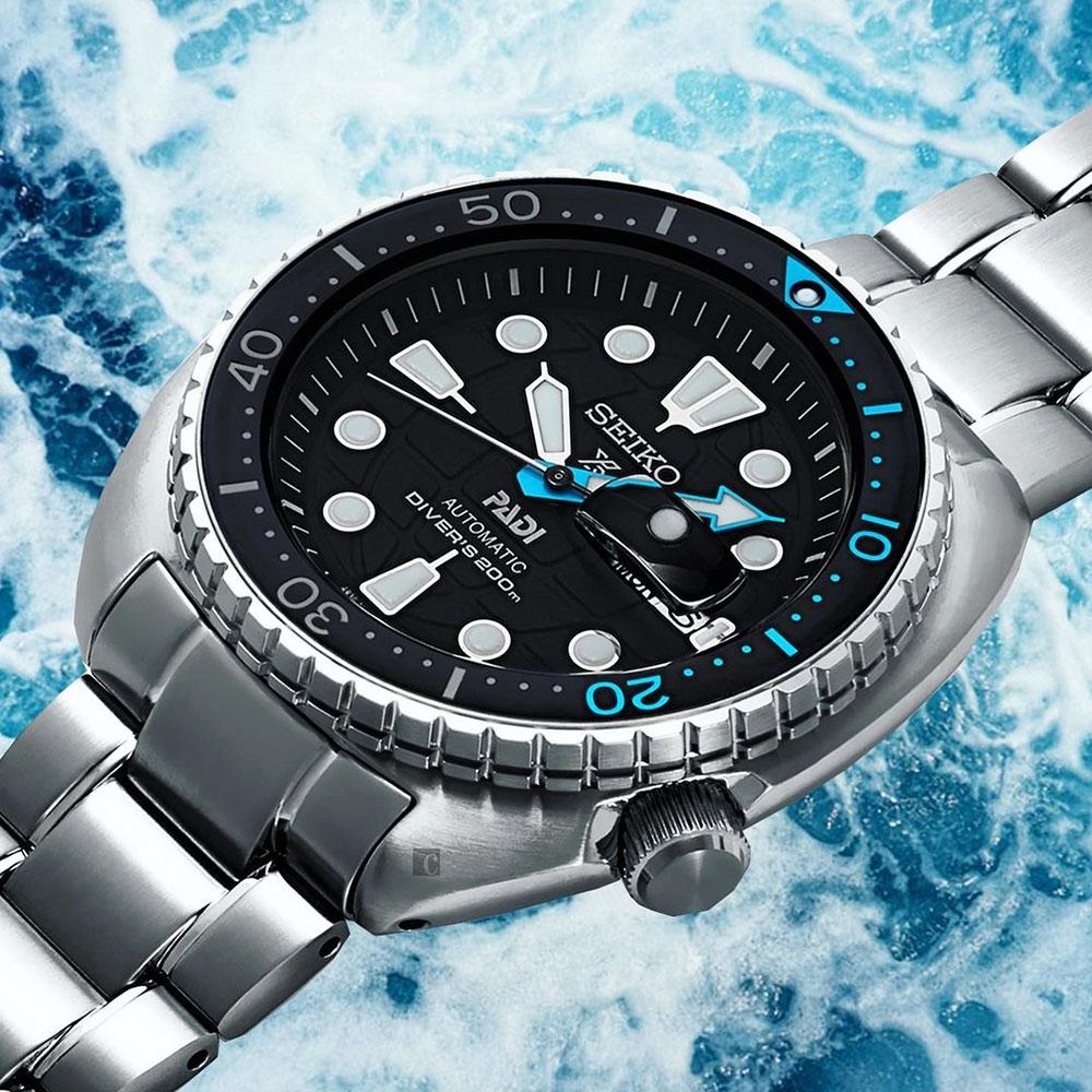 SEIKO精工 Prospex PADI 聯名200米潛水機械錶(SRPG19K1/4R36-06Z0I)