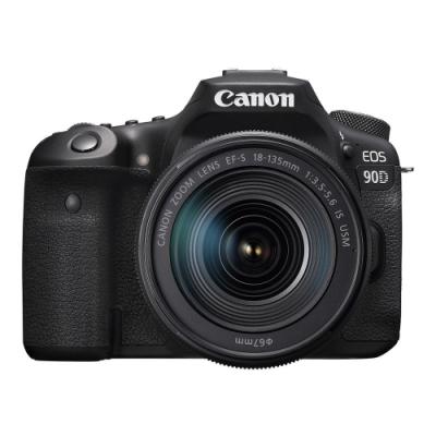 CANON  EOS 90D 18-135mm IS USM 變焦鏡組(公司貨)