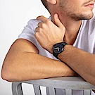 CALVIN KLEIN highnoon 巔峰系列三針手錶-鍍黑/40mm