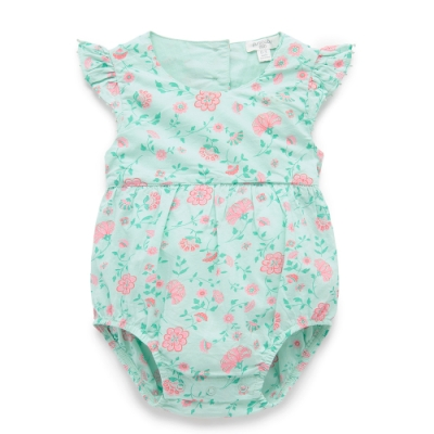 澳洲Purebaby有機棉嬰兒包屁衣-3~18月