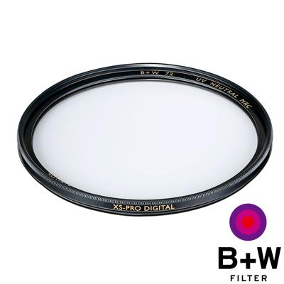 B+W 62mm XS-PRO 010 UV  MRC Nano 超薄奈米鍍膜保護鏡