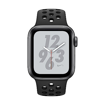 Apple Watch Nike+ S4(GPS)40mm 太空灰色鋁金屬+黑色錶帶
