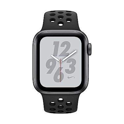 [無卡分期-12期] Apple Watch Nike+ S4 網路40mm灰鋁殼搭黑錶帶