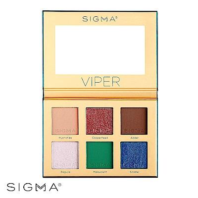 Sigma 限量毒蛇6色眼影盤 12.01g