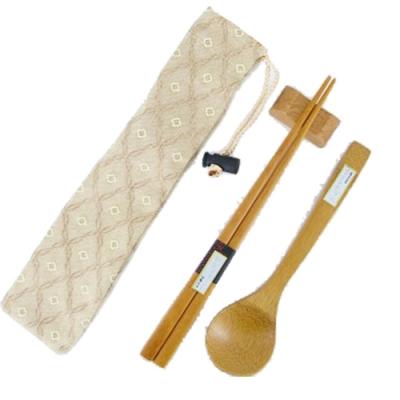 經典筷袋組-金檀-12入