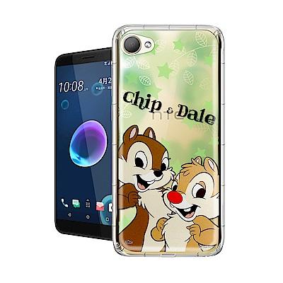 迪士尼授權正版 HTC Desire 12 繽紛空壓安全手機殼(奇奇蒂蒂)
