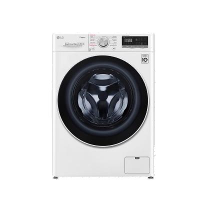 [時時樂限定] LG樂金  9公斤 蒸洗脫烘 WiFi滾筒洗衣機 WD-S90VDW 典雅白