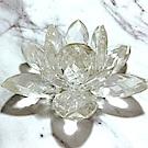 Hera 赫拉-(大)好運蓮蓮水晶蓮花燭台(單售蓮花)