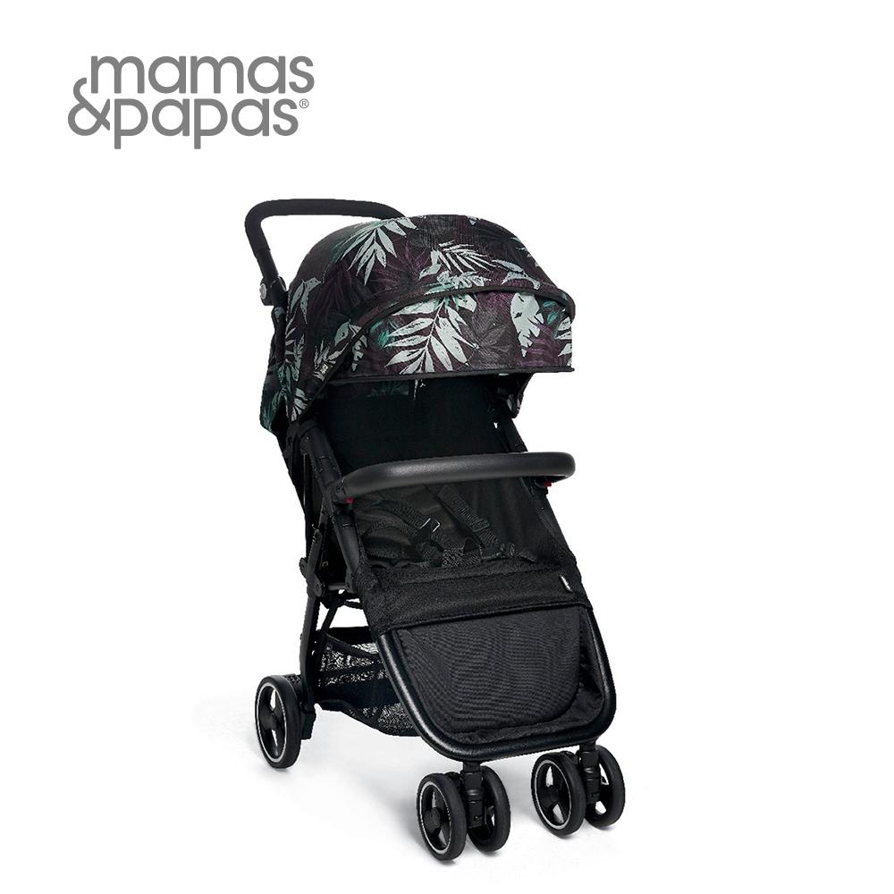 Mamas&Papas Acro 輕量秒收 可登機 嬰兒手推車 6m+(棕櫚黑)
