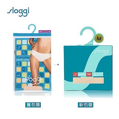 sloggi Everyday 有機過生活系列中腰三角褲 淺米色 74-4061 LZ