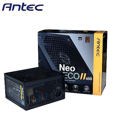 Antec 安鈦克 NEO ECO II 450 450W 80PLUS銅牌 電源供應器