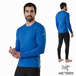 Arcteryx 男 Phase AR 保暖 抗臭 內層圓領衫 恆星藍