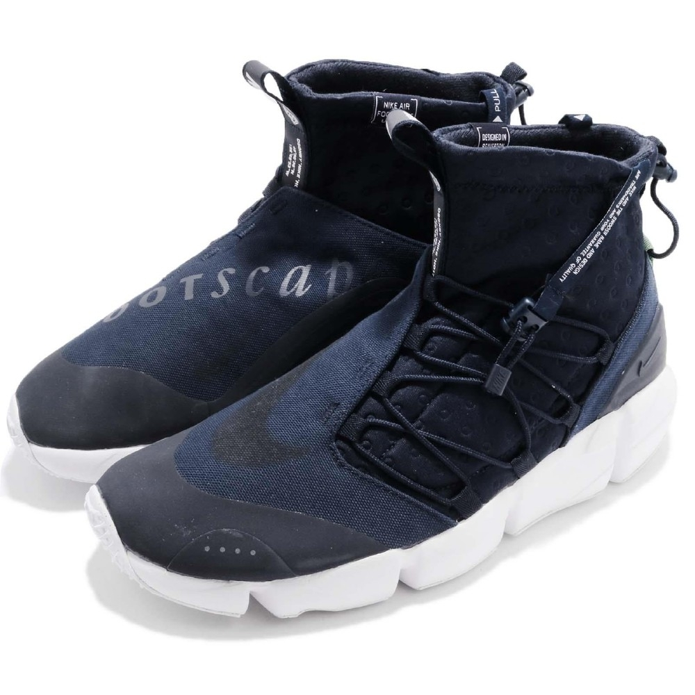 Nike 休閒鞋 Footscape Mid 運動 男鞋