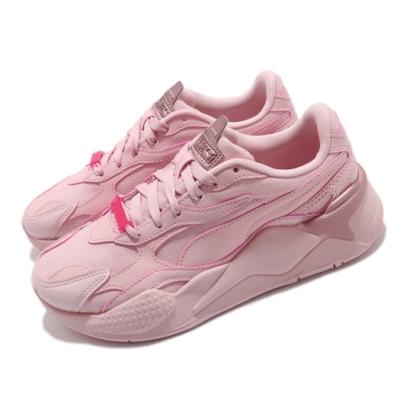 Puma 休閒鞋 RS-X Sunset Hues 女鞋 厚底 微增高 粉嫩 流行款 穿搭推薦 粉 37513802