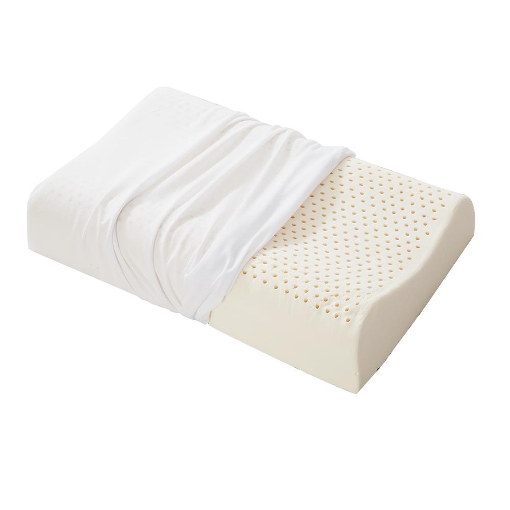 A-ONE 100%純天然乳膠枕-波形曲線科技工學枕